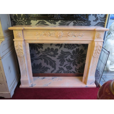 13952 Fireplace Marble
