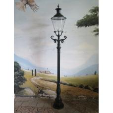 13953 Laterne Gartenlampe Grün 2,60 m