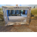 13986 Spiegel Wandspiegel Silber 1,20 m x 0,90 m