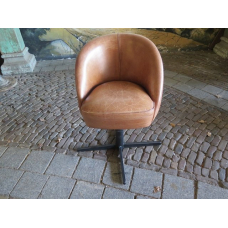 14118E Desk Chair - Leather