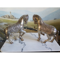 14203 Dekoration Pferd Silber 925er