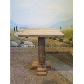 14249 Standing Table Oak 0.80 m x 0.80 m