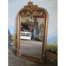 14255 Spiegel Wandspiegel Gold 1,21 m x 2,12 m