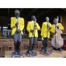 14276 Dekoration Jazzband 50er Jahre