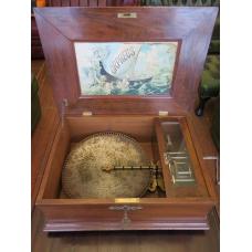 14283 Musical box Orpheus Gründerzeit 1890