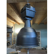 14354 Lampe Industrielampe Schwarz 1970