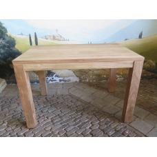 14423 Esstisch Tisch Teakholz 1,40 m x 0,80 m