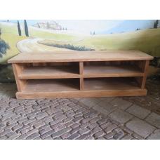 14491E TV Lowboard Sideboard Teakholz 1,65 m