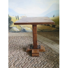 14555 Standing Table Oak 0.80 m x 0.80 m