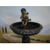 14639E Wasserspeier Engel Bronze 1,48 m