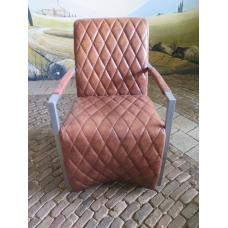 14728 Stuhl Esszimmerstuhl Industrial Design Leder