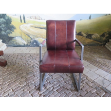 14736 Dining Chair Industrial Design - Leather