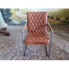 14738 Stuhl Esszimmerstuhl Industrial Design Leder