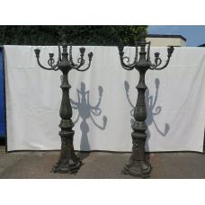 14743 Laterne Gartenlampe Bronze 2,55 m