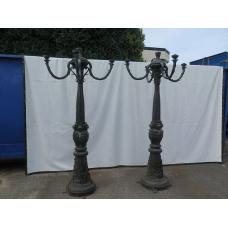 14746 Lantern garden lamp bronze 2.50 m