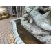 14761E Wandbrunnen Brunnen Pferde Bronze 2,30 m