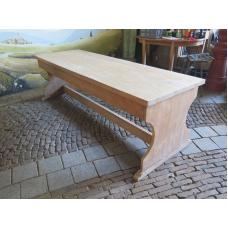 14945 Esstisch Tisch Teakholz 2,20 m x 0,74 m