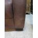 14986 Couch Nepal Leder Braun 3 Sitzer