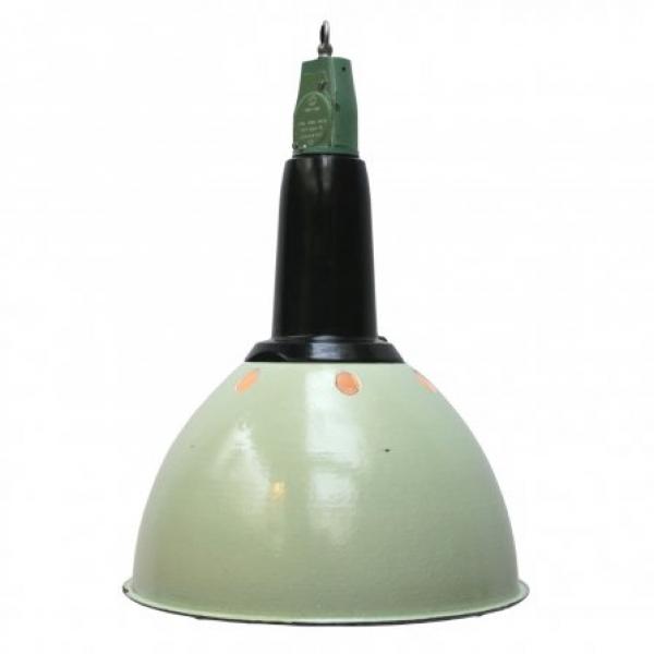 15095C Industrielampe Hellgrün-Weiß Ø 0,37 m