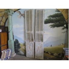 15121E Lamellentüren Flügeltüren 1,14 m