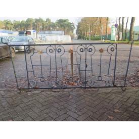 15130 Fence element 2.69 m Jugendstil 1920