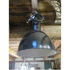 15147E Industrielampe Schwarz-Weiß Ø 0,35 m