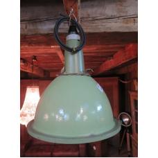15149 Industrielampe Hellgrün-Weiß Ø 0,45 m