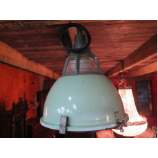 15150 Industrial lamp green-white Ø 0.45 m