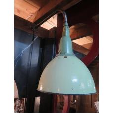 15151E Industrielampe Wandlampe Hellgrün-Weiß Ø 0,36 m