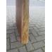 15156E Tisch Esstisch Teakholz Baumstamm 3,57 m x 0,98 m