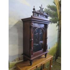 15243 Schrank für Polyphon Spieluhren Gründerzeit 1880