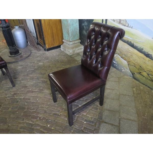 15245 stuhl esszimmerstuhl leder braun. Black Bedroom Furniture Sets. Home Design Ideas