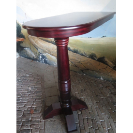 15393E Wall table Mahogany 1.20 m x 0.60 m