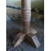 15394E Stehtisch Wandtisch Teakholz 1,20 m x 0,60 m