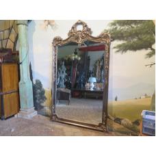 15412 Spiegel Wandspiegel Barock Silber 1,58 m x 2,76 m