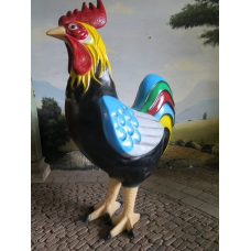 15484 Decoration Rooster 2.05 m
