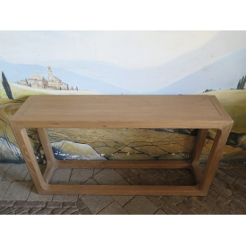 15564E Wall Table Modern Teak 1.40 m