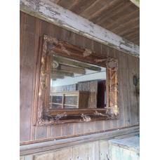 15656 Spiegel Wandspiegel Barock 1,20 m x 0,90 m