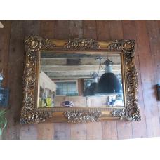 15657 Spiegel Wandspiegel Barock 1,20 m x 0,90 m