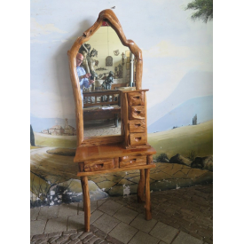 15661E Make-up Table Country Teak 0.72 m