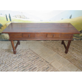 15674 Wall Table Sidetable Teak 1.70 m