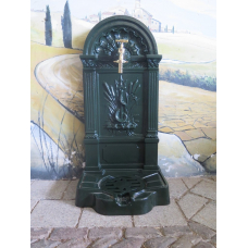 15729E Wall Fountain Aluminum 0.87 m