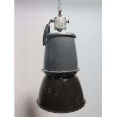 15739E Lampe Industrielampe Schwarz-Grau Ø 0,35 m