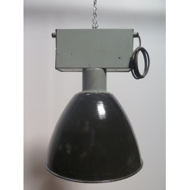 15741E Industrial Lamp Black Ø 0.74 m