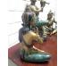 15815 Set musizierende Tempelwächter Bronze 0,66 m