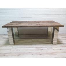 15893E Tisch Esstisch Teakholz 2,00 m x 1,05 m