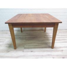15895E Tisch Esstisch Teakholz 1,20 m x 1,20 m