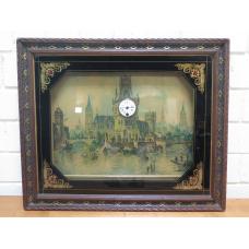 16002 Wandbild Uhr 1900