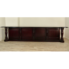 16033 Sales Counter Mahogany 5.00 m