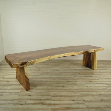 16096 Dining Table Teak Tree Trunk  3,30 m x 0,89 m